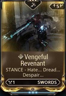 Vengeful Revenant (スタンス) | WARFRAME(PS4)備忘録 Pangolin Sword