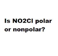 Is NO2Cl polar or nonpolar?