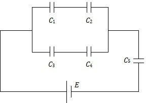Rangkaian Kapasitor seri dan paralel