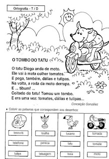 Leitura o tombo do tatu