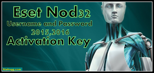 Eset Nod32 & Eset Smart Security Activation Key 2015 Update