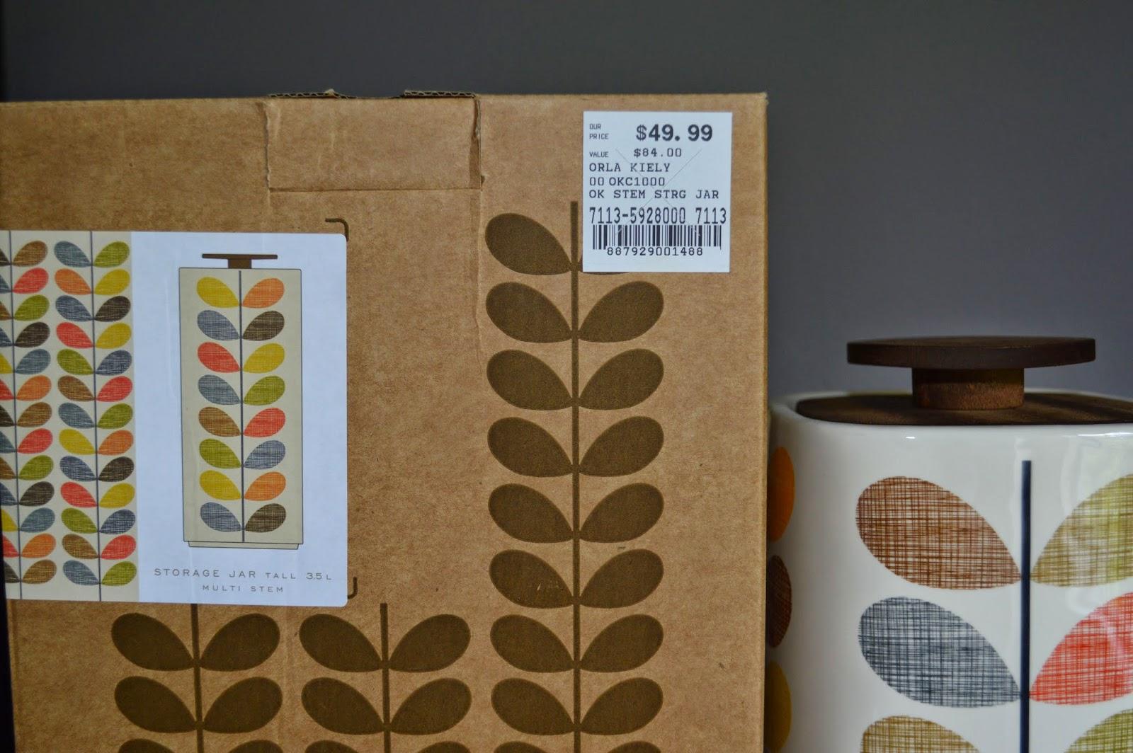 I Love Orla Kiely Haul Review Orla Kiely Multi Stem Storage Jar