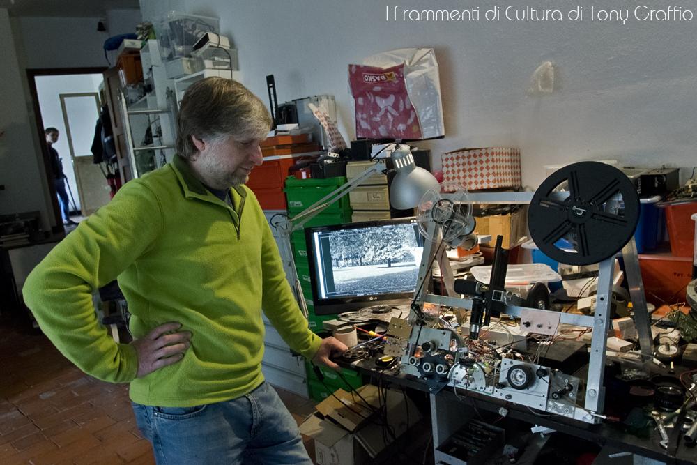 Il rivoluzionario cine-scanner di Matteo Ricchetti