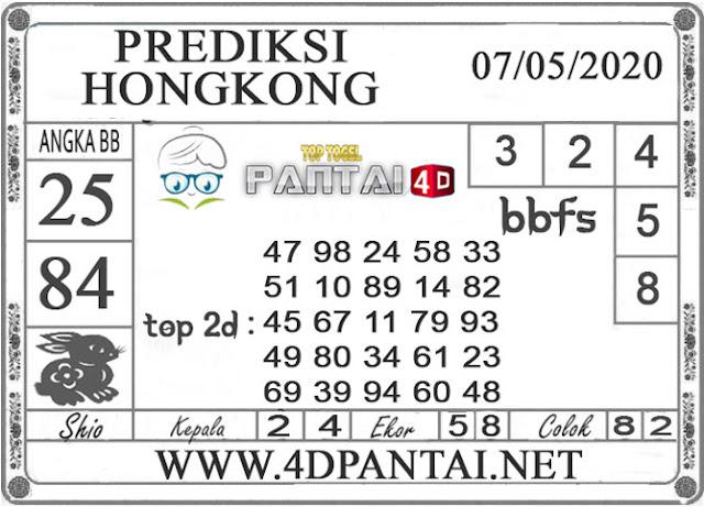 PREDIKSI TOGEL HONGKONG PANTAI4D 07 MEI 2020