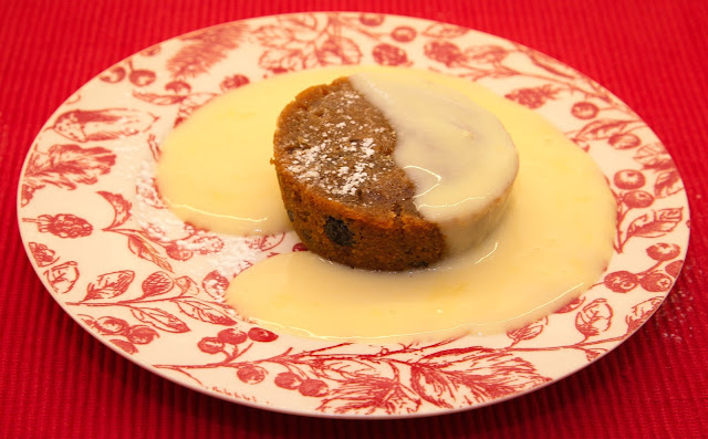 Pudding and custard