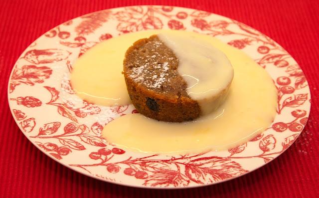 Pudding and custard