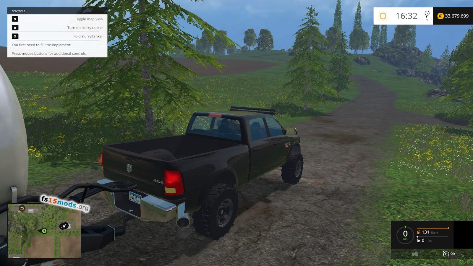 Dodge Cummins 2500 car | FS15 Mods