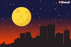 Mengapa Bulan dan Matahari Tampak Besar saat di Cakrawala?