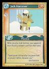 My Little Pony Jack Hammer GenCon CCG Card