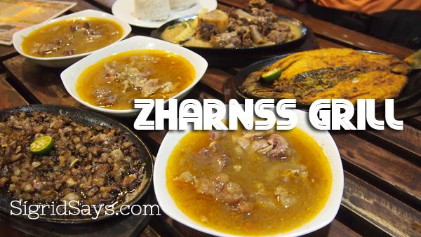 Zharnss Grill Filipino food