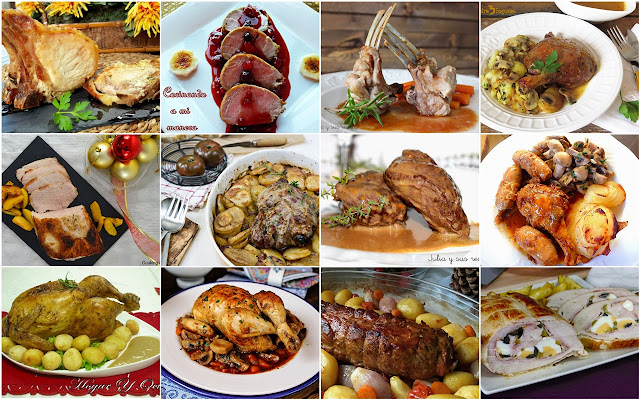 Platos de carne perfectos para nuestras mesas navideñas. Julia y sus recetas