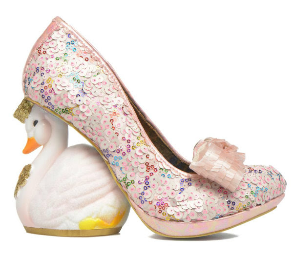 Irregular Choice savan swan pink