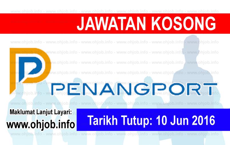 Jawatan Kerja Kosong Penang Port Sdn Bhd logo www.ohjob.info jun 2016