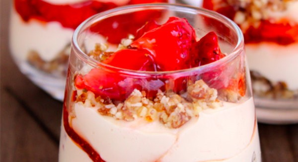 6sp - Skinny Mini Desserts – Strawberry Cheesecake | weight watchers