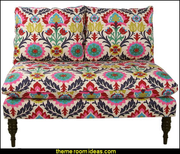 Bineau Loveseat boho decorating