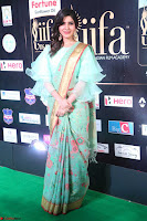 Samantha Ruth Prabhu Smiling Beauty in strange Designer Saree at IIFA Utsavam Awards 2017  Day 2  Exclusive 55.JPG