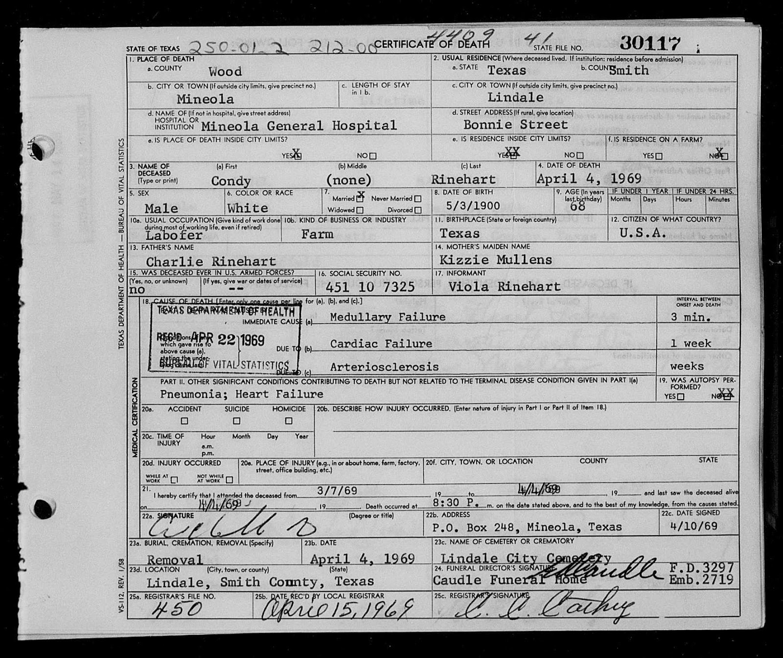 Wood County Recorder Office - Birth, Death, Marriage & Divorce Records
