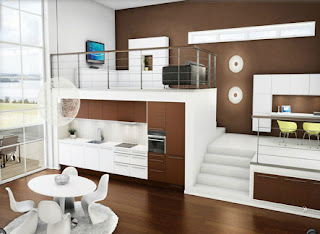 desain interior minimalis modern E