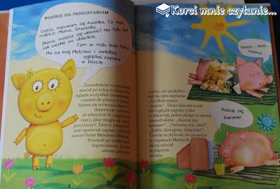 """Piotr Rowicki """"Aurelka czyli wielkie hece małej świnki"""""""