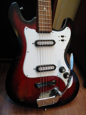 Teisco Melodier Vintage Japanese Guitar
