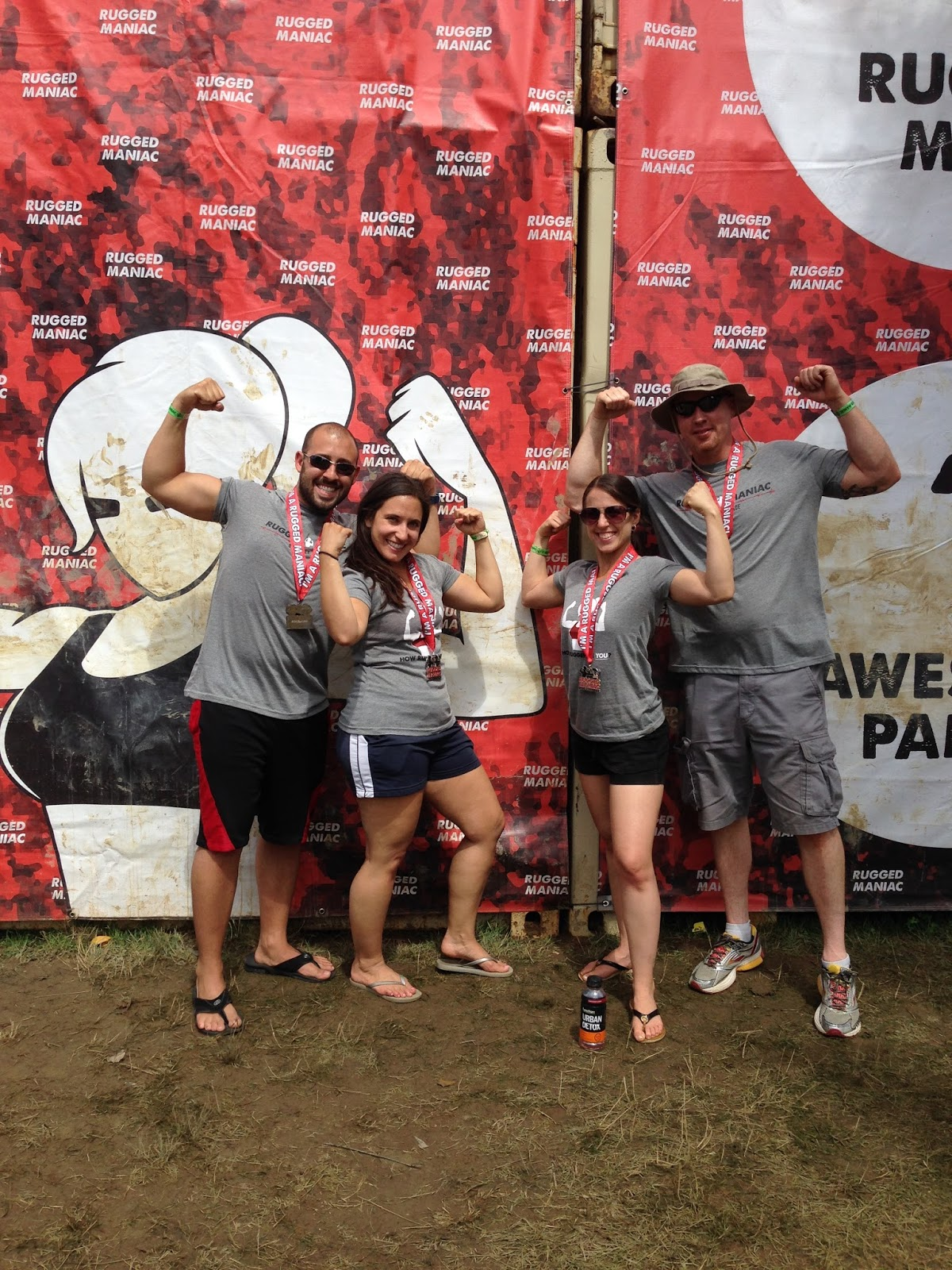 Rugged Maniac Swag
