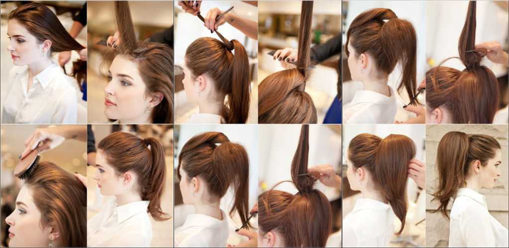 Easy Puff Hair Style Tutorials Embunarticle