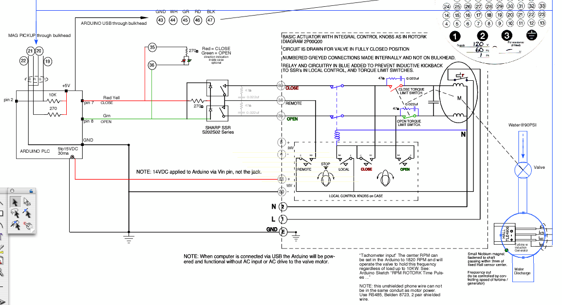 Rotork%2BArduino%2Bcontroller rotork wiring diagram efcaviation com rotork actuator wiring diagram at bayanpartner.co