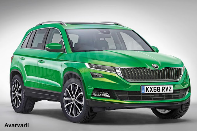 2018 New Skoda Yeti SUV Design & Engines