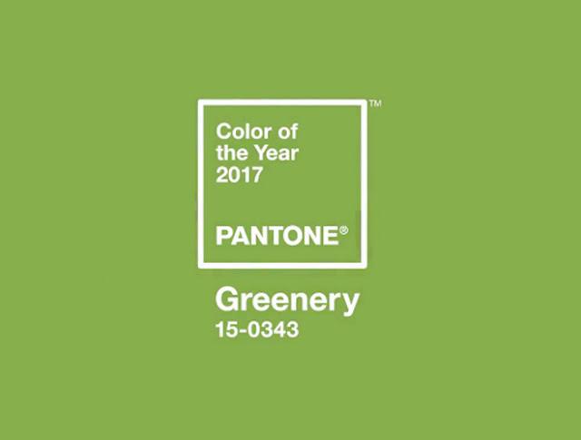 GREENERY . PANTONE 2017.COLOR ECOLOGICO