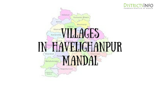 Havelighanpur Mandal with villages