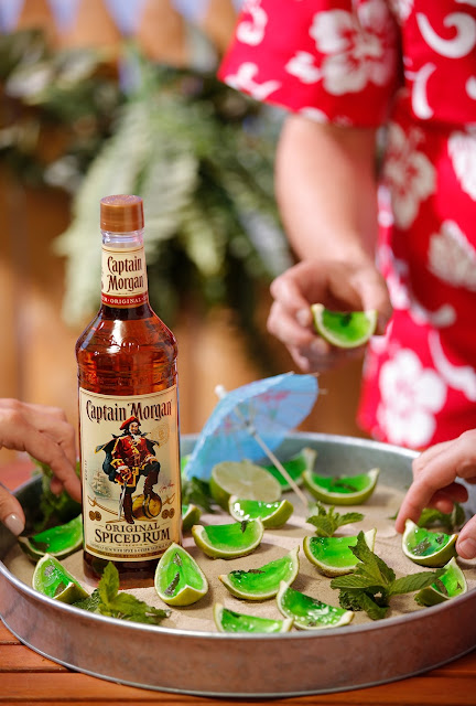 Captain Morgan Gelatin Mule Shots