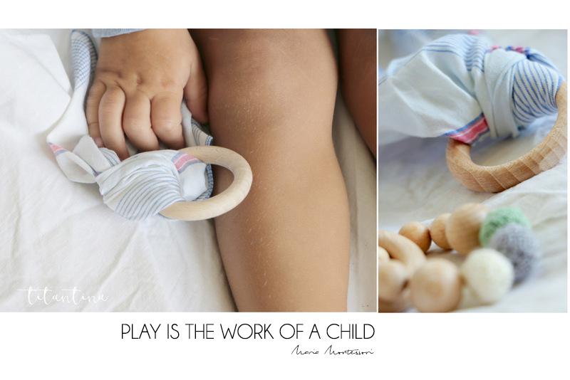 Titantinas Ideen Diy Fürs Baby Greiflinge Aus Holz