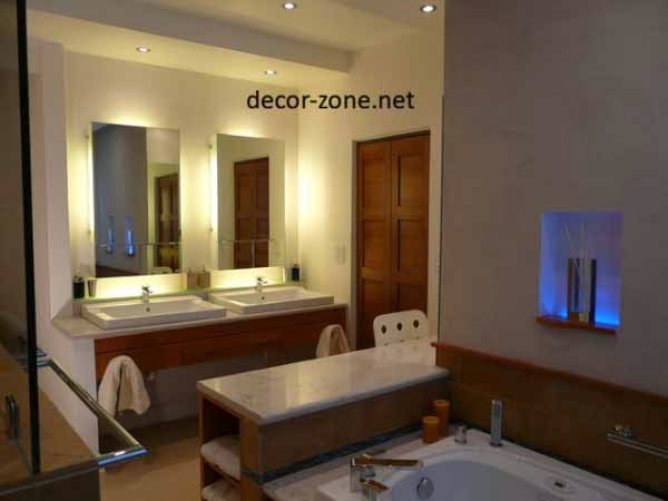 mirrors bathroom lighting ideas