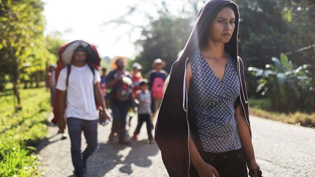 Otra caravana de migrantes partió a los EE.UU y esta vez es la cuarta desde Honduras.