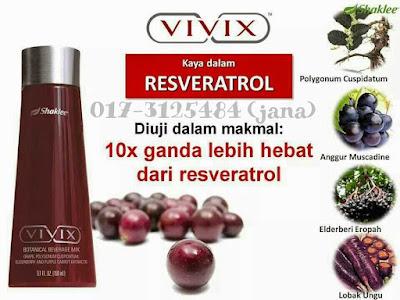 vivix shaklee untuk darah tinggi