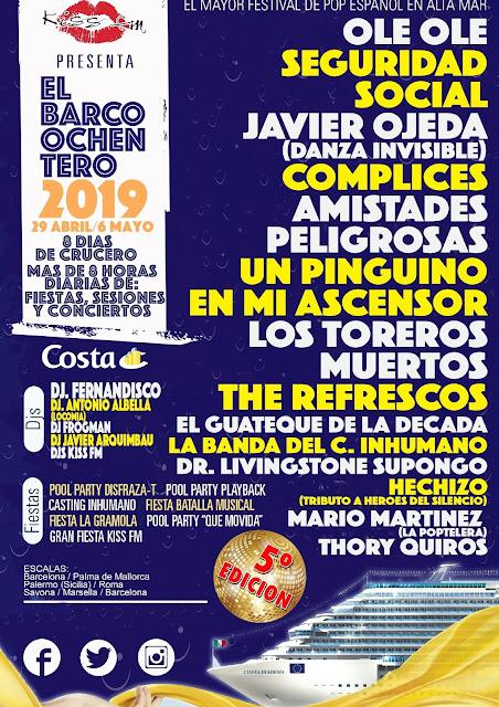 El Barco Ochentero 2019