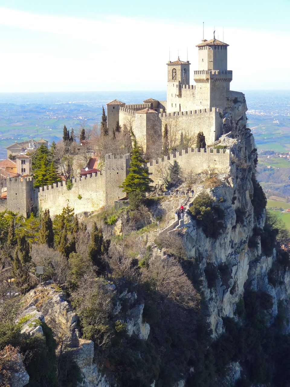 The Republic Of San Marino A Country On Cliff