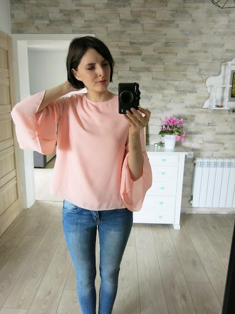 Różowa Bluzka | Pink Blouse | Zaful