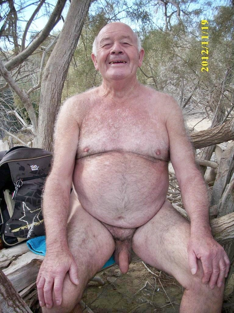 Nude chubby older men