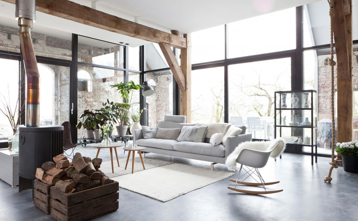 Leather Chesterfield Sofa Beige Cool Cushions Scandinavian Design: Clean & Simple : Blog ...