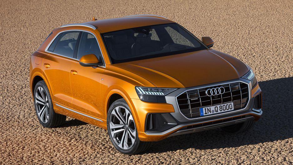 Mẫu XE Audi Q8 Màu Cam Đời Mới Nhất giá bán bao nhiêu tại việt nam, khi nào về