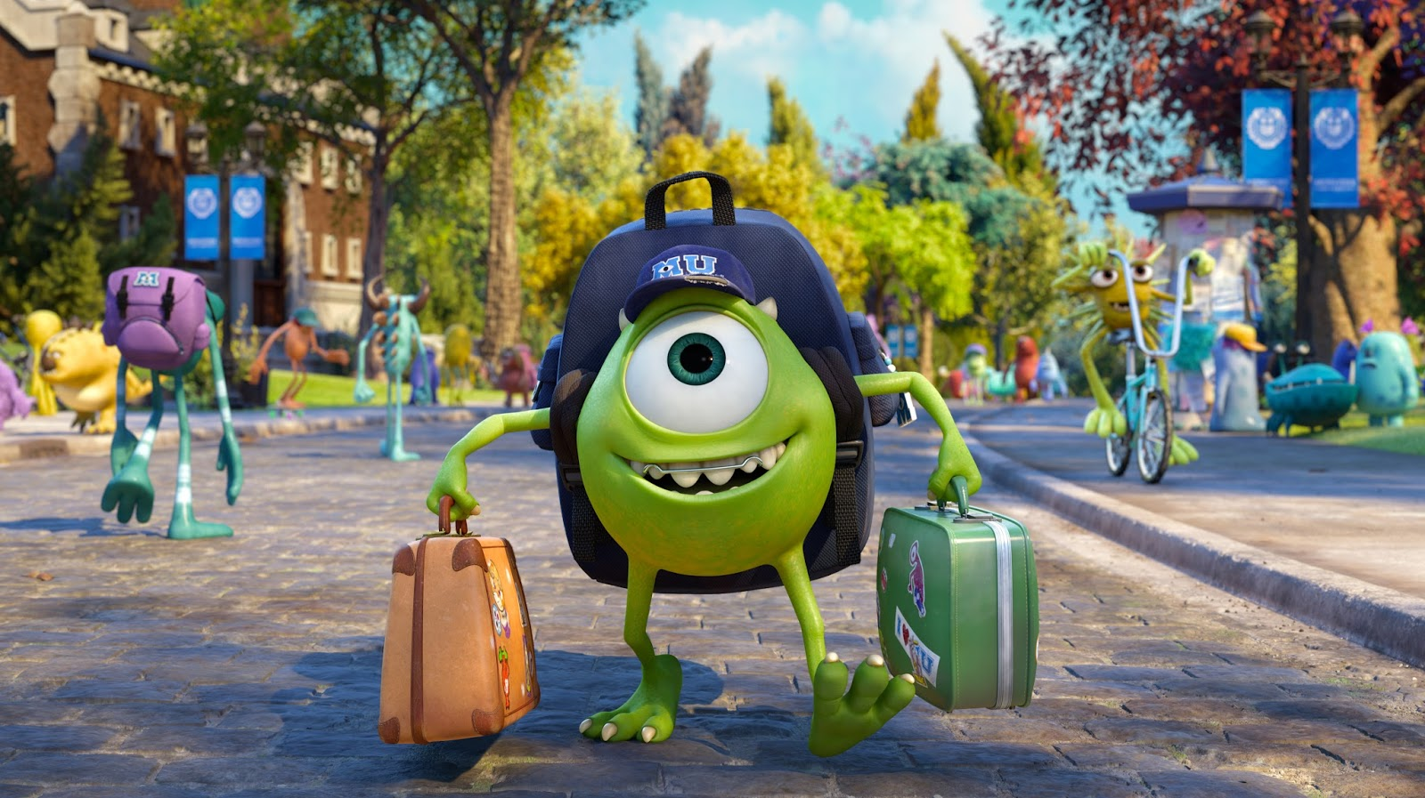 Shanamama: Monsters University 3D in theaters now!