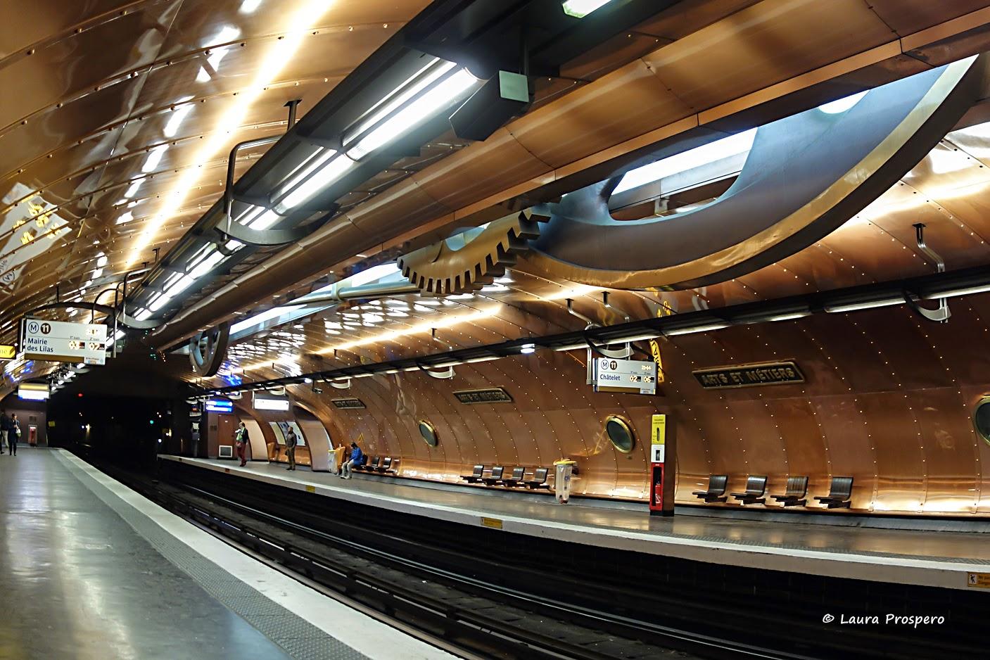 station arts et métiers, Paris © Laura Prospero