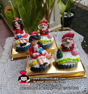 Christmas Cupcake Souvenir