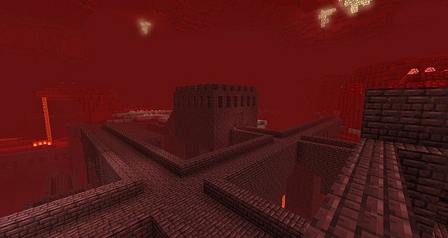 Nether fortress in Minecraft: Nether fortress