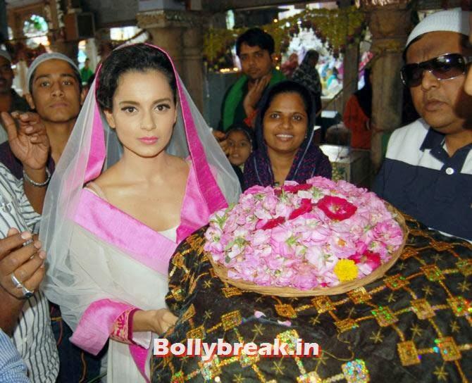 , Kangna Ranaut visits Ajmer Sharif for Rajjo Promotion