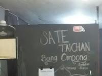 Sate Taichan Syahdan - Bang Ompong Cabang Tanjung Duren