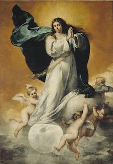 Murillo - Inmaculada Concepción la Colosal (Museo BBAA Sevilla) 1650