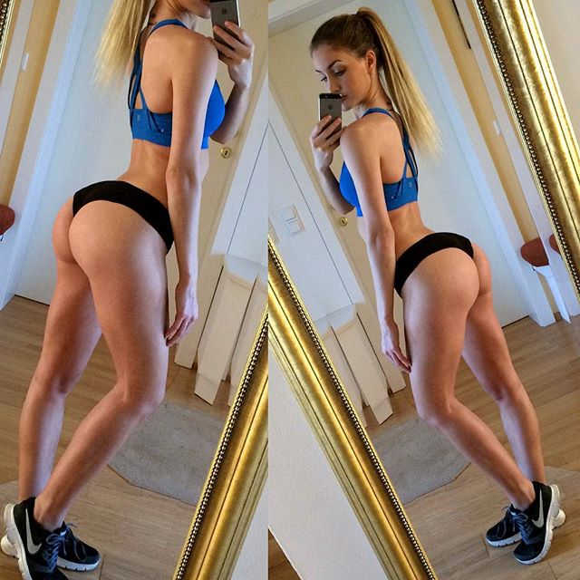 Beautiful Fitness Model JULIA BÄSSLER