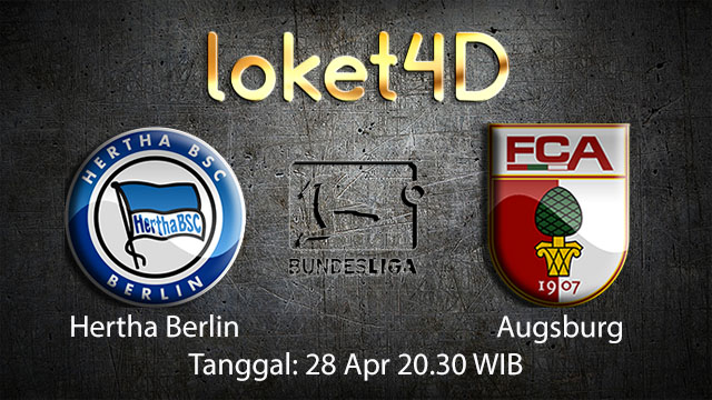 BOLA88 - PREDIKSI TARUHAN BOLA HERTHA BERLIN VS AUGSBURG 28 APRIL 2018 ( GERMAN BUNDESLIGA )